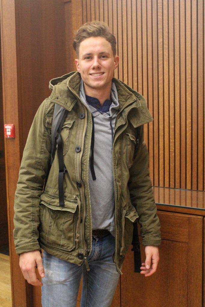 Leon Ritter, International Relations, first year
