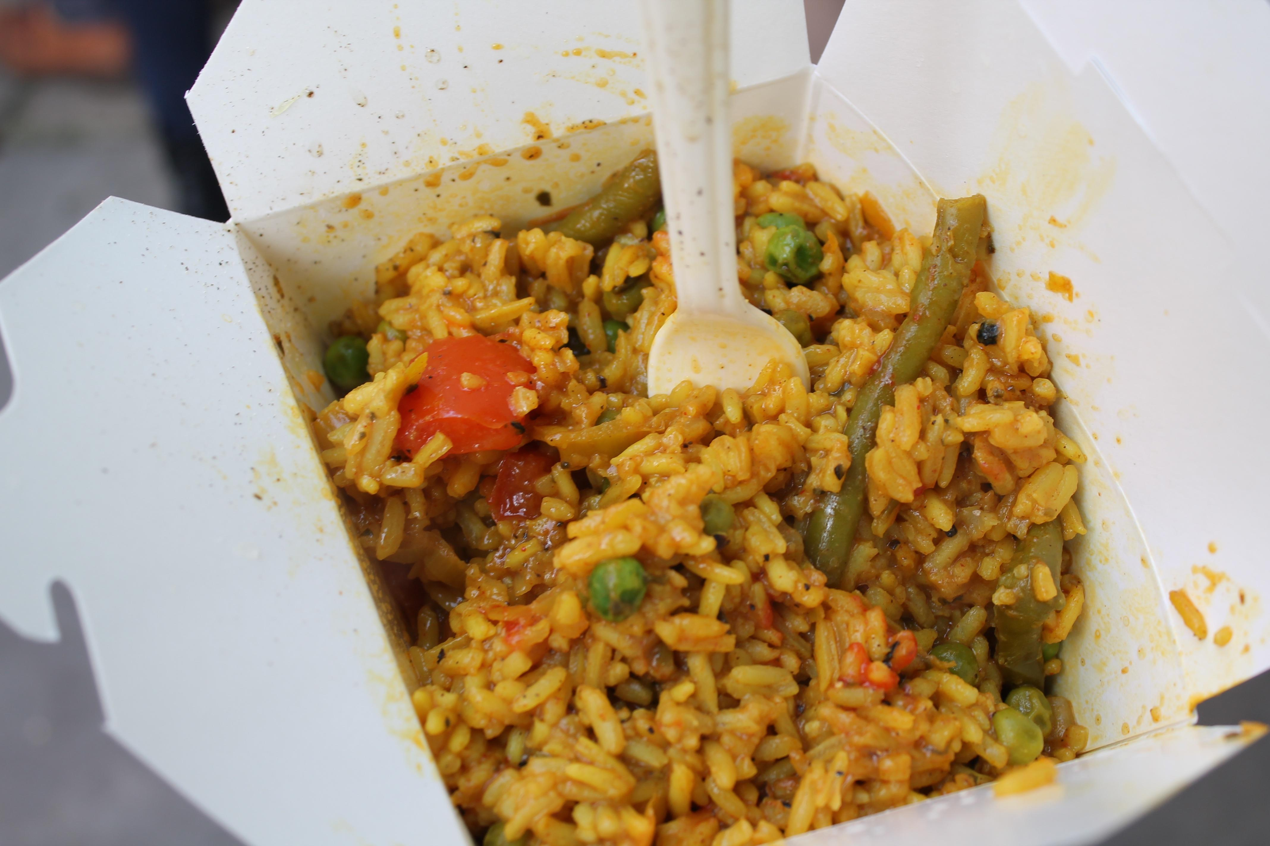 I had this yummy veggie paella for a fiver – it was also vegan AND gluten free, so even those with a more restricted diet have no reason to not be able to enjoy this deliciousness
