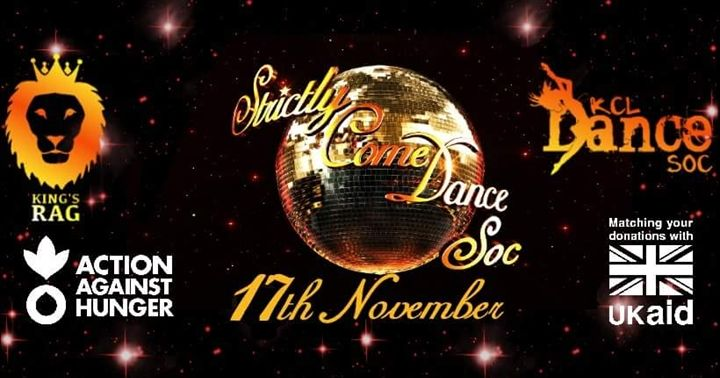 Kcl strictly come dance soc returns for another for Outer space leicester
