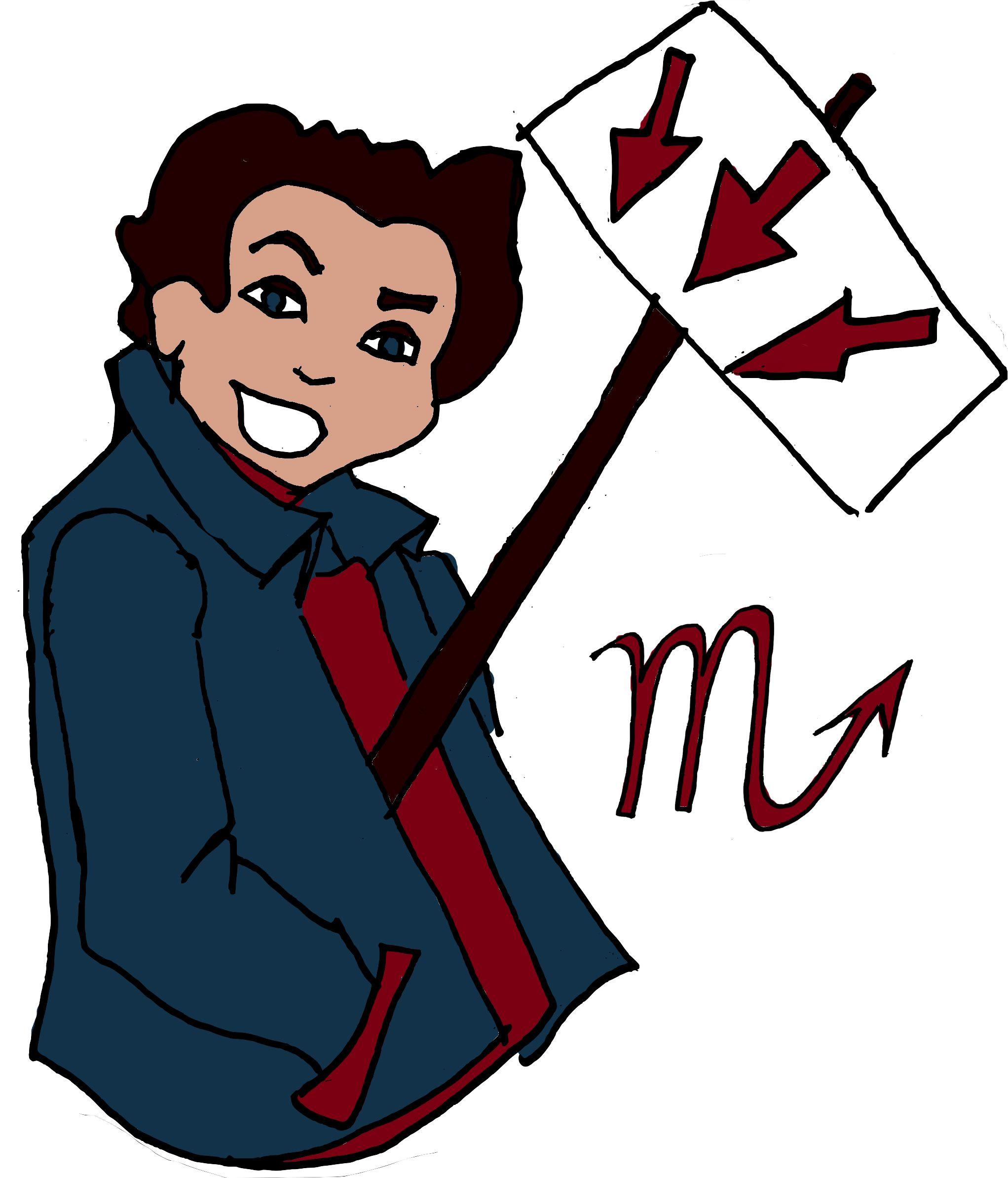 Image may contain: Drawing, Art, Trademark, Logo