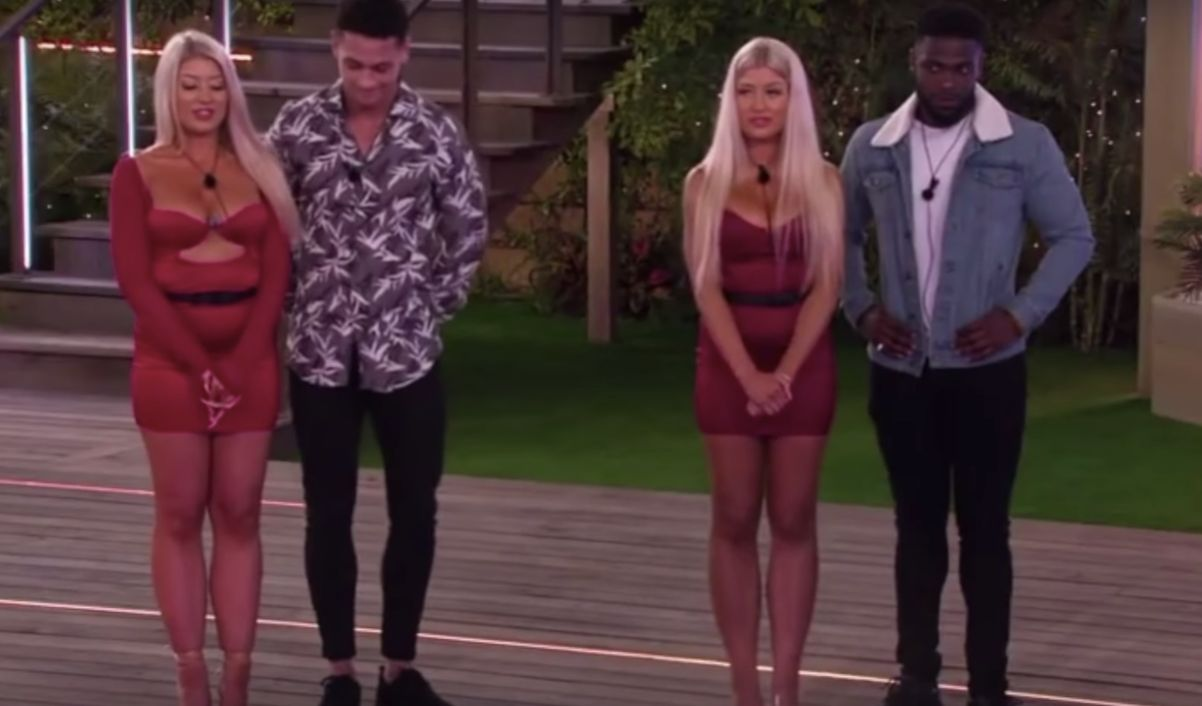 Love Island twins, Eve Gale, 2020, Jess Gale, TV, gossip, trash, king's, ucl, kcl, university college london, king's college london, ollie williams