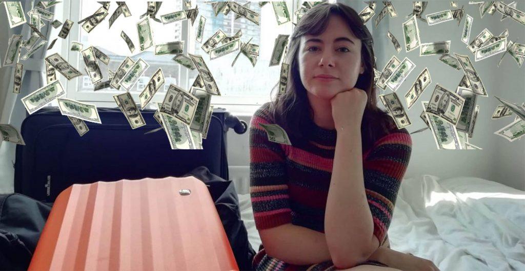 Image may contain: Dollar, Money, Human, Person