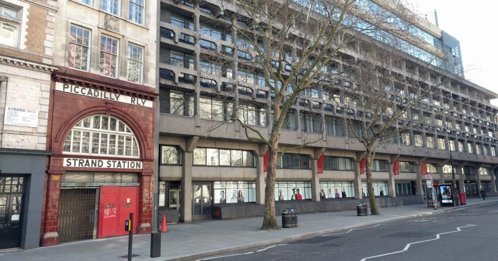King's College London, Strand, London