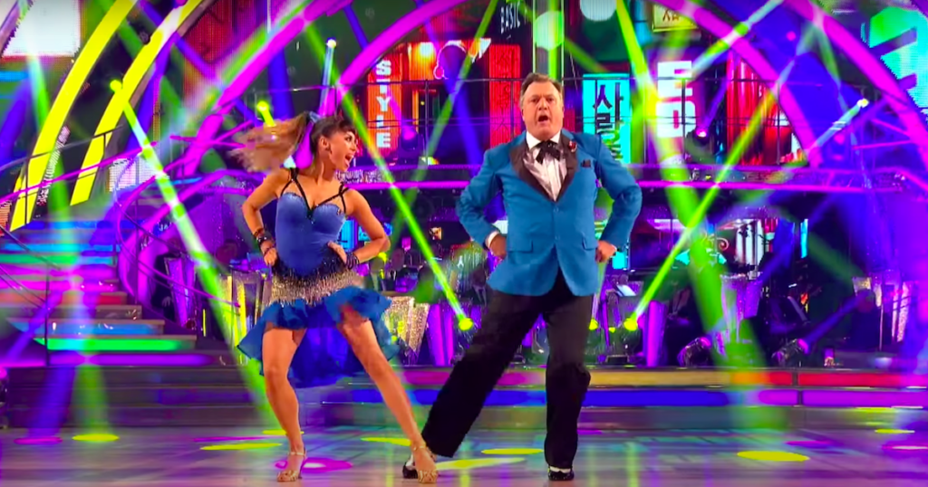 Balls dancing to Gangnam Style on Strictly Come Dancing