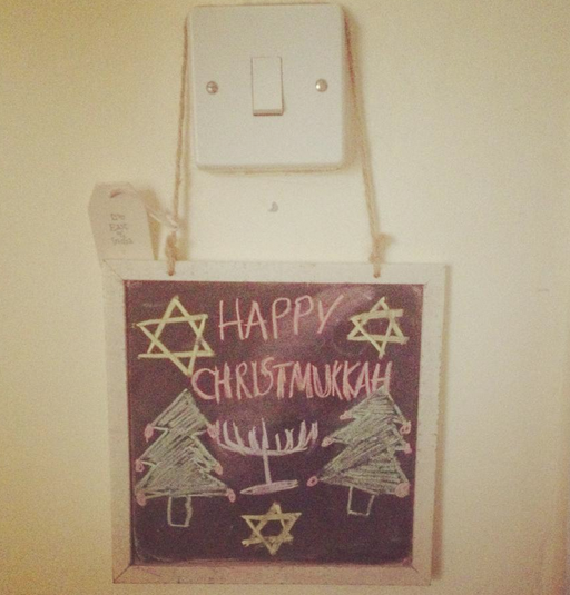 In my house we celebrate Chrismukkah