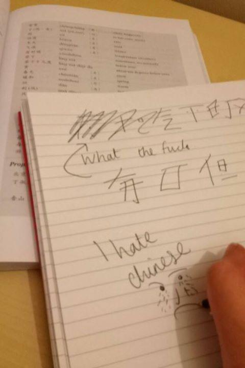 i hate chinese