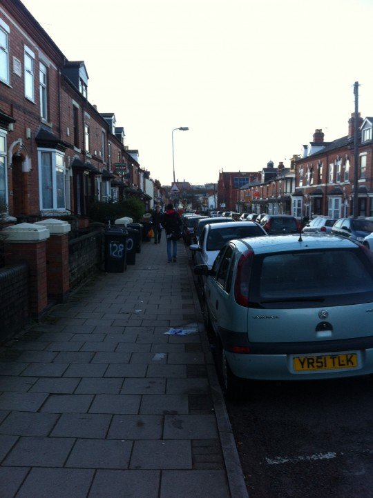 The street on which the remaining students were held at knifepoint