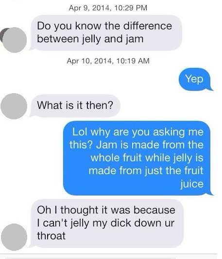 Inappropriate pick up lines to say to guys