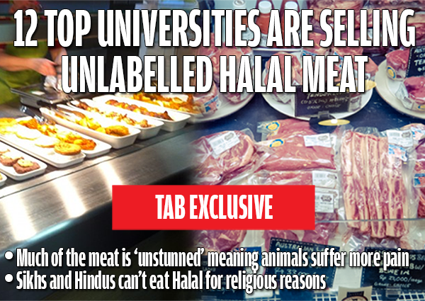 Top Universities Including Oxford And Manchester Secretly Serve Unstunned Halal Meat To Students