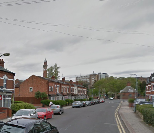 Bournebrook Road where another incident occurred earlier this year