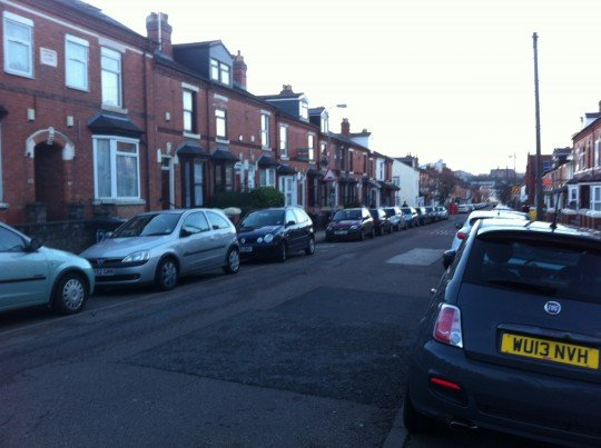 Tiverton Road where an attack left 7 female students traumatised
