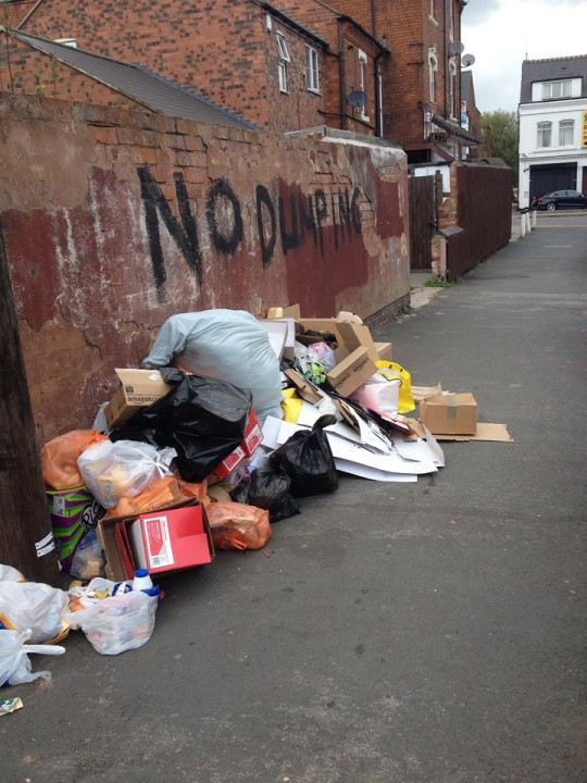 Attempts to stop littering in Selly Oak have so far been unsuccessful