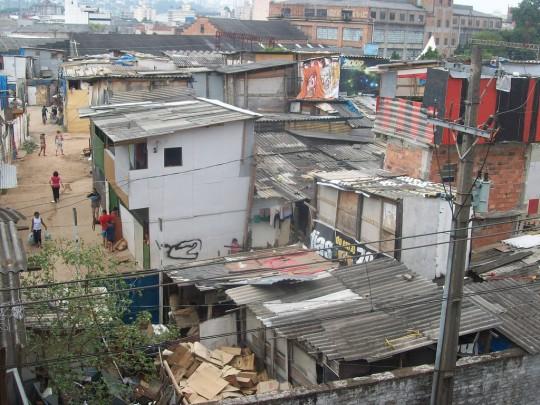 A typical favela
