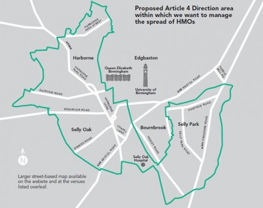 The proposed plans outline where students would be confined to