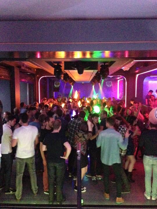 The sunken dance floor lives on!