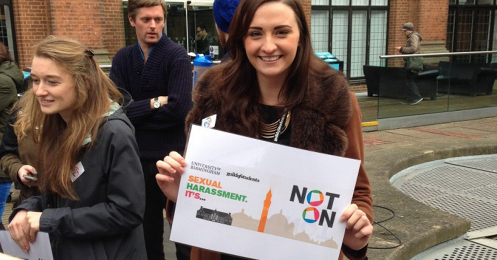 The Not On campaign was launched at the beginning of this year
