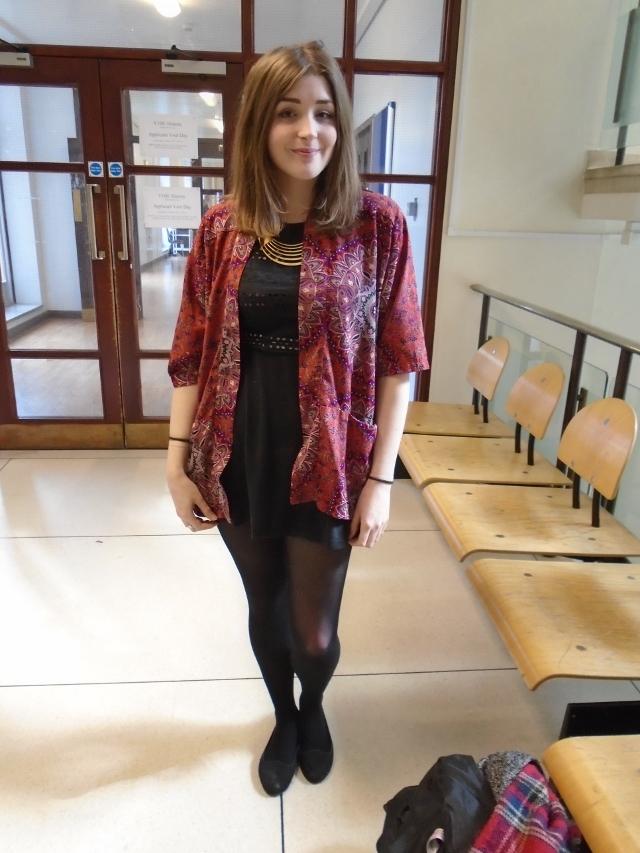 Ciara Tomlinson, English Literature, Primark kimono