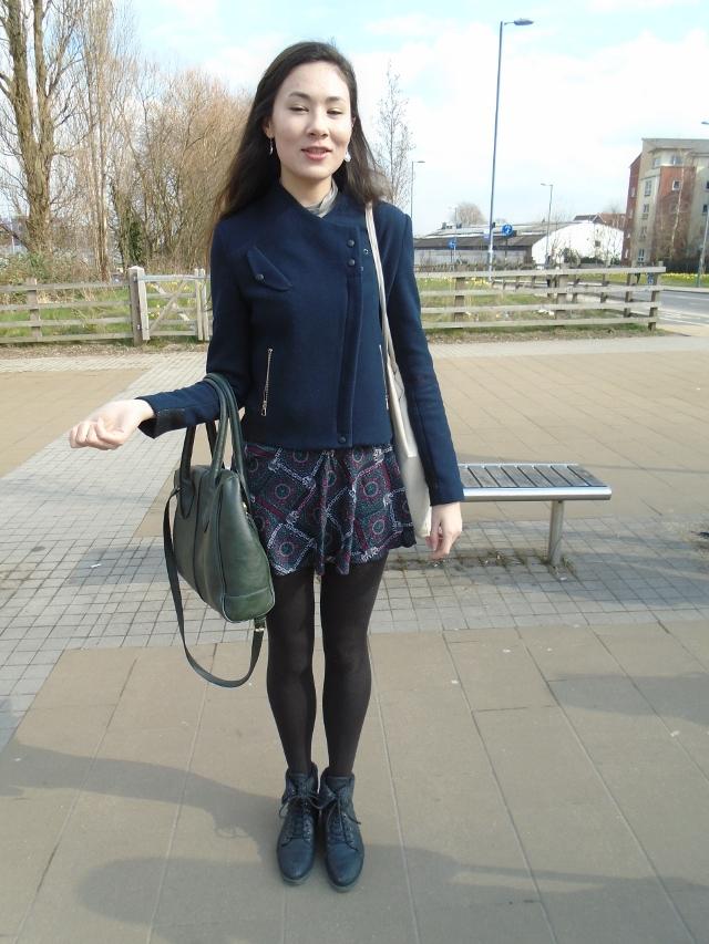 Sabrina Parker, modern languages, Zara coat