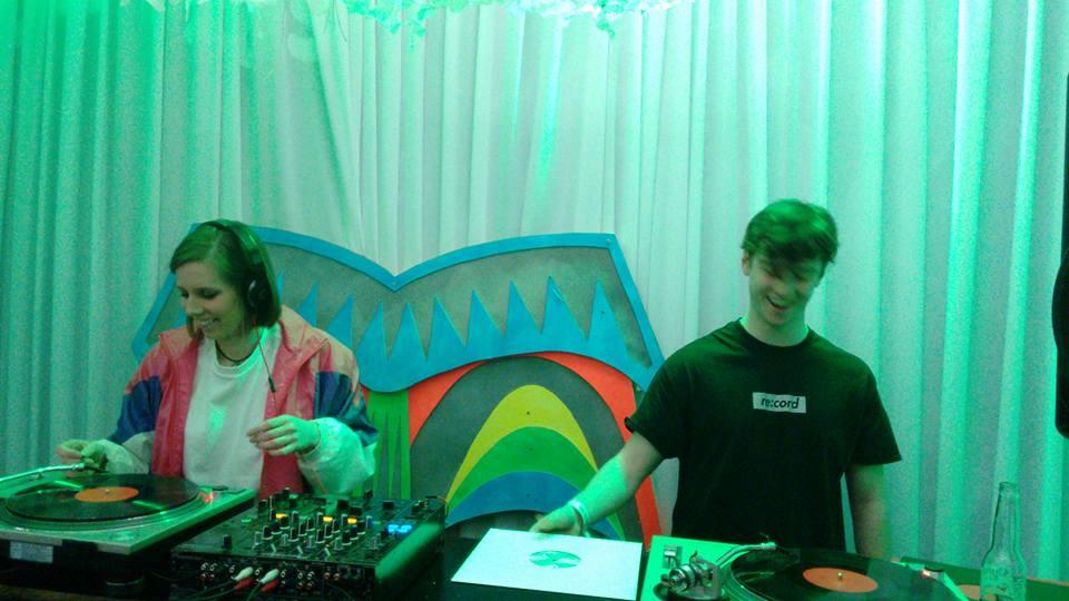 Re:cord DJ's Nikki Gardner and James Ladington
