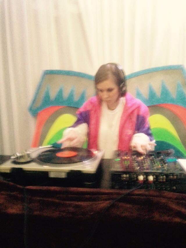 Nikki Gardner one of the Re:cord DJ's