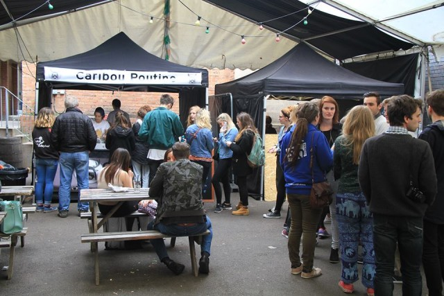 The Queue at Digbeth Dining Club