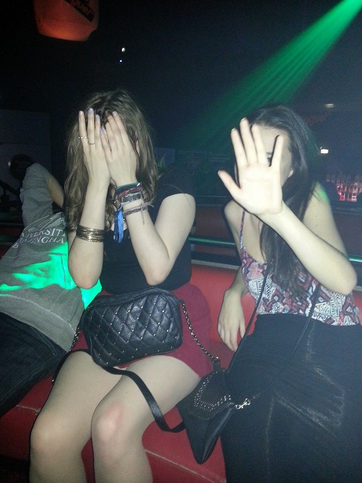 I don't want to be seen dead in Gatecrasher