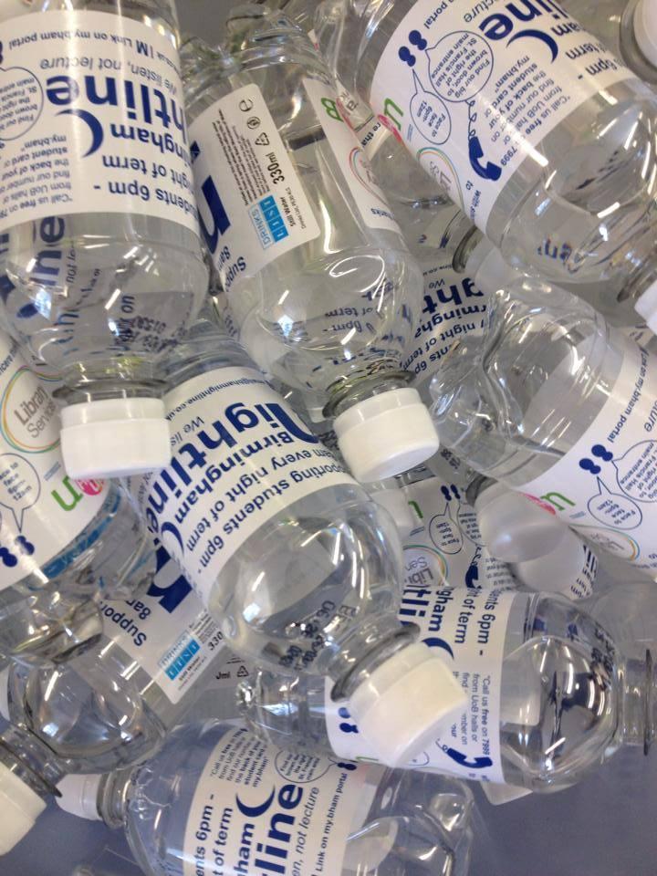 NL water bottles