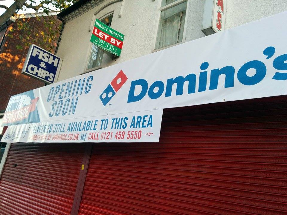 Adams Place Has Been Replaced By Dominos
