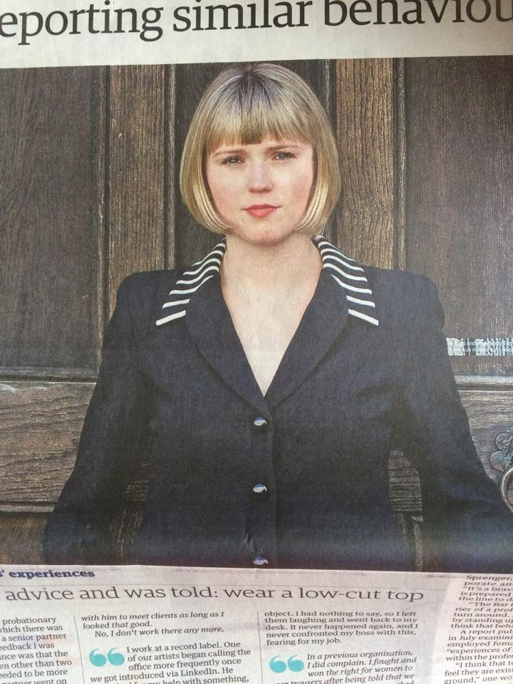 Charlotte's story was covered in all the national papers