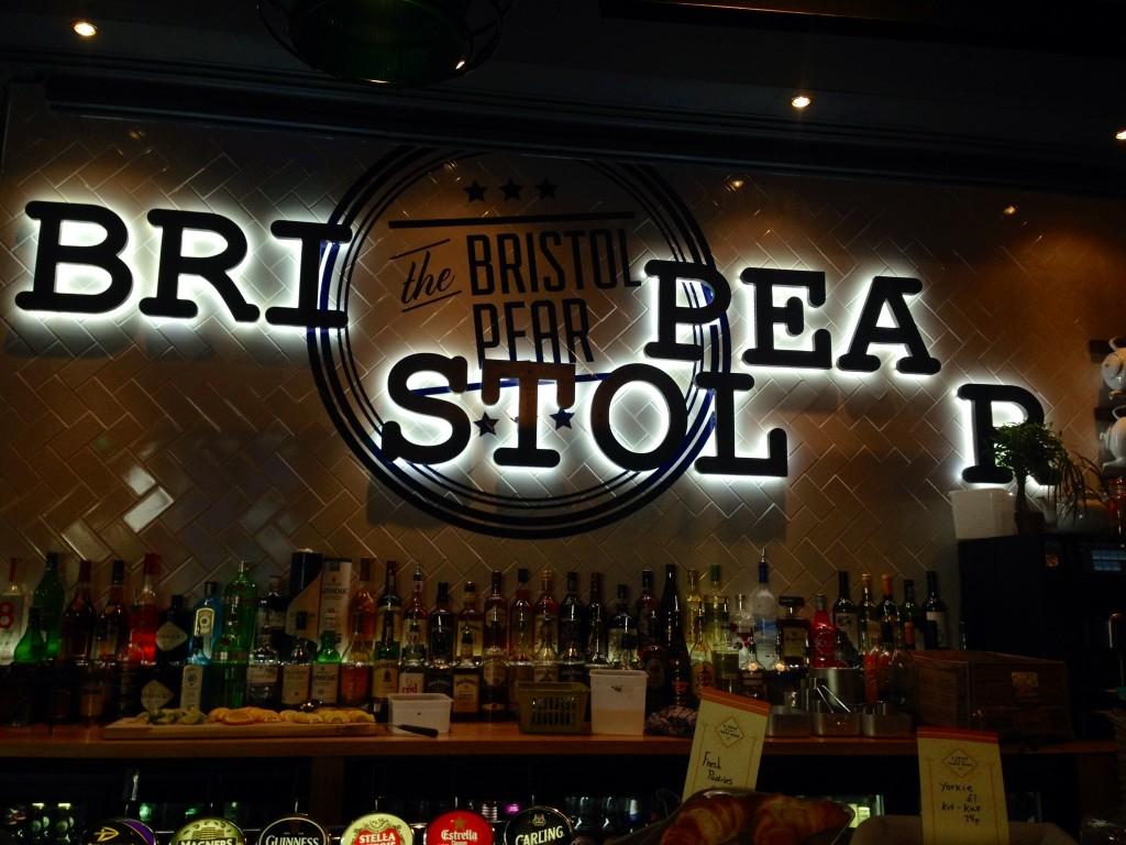 The bar looks infinitely better