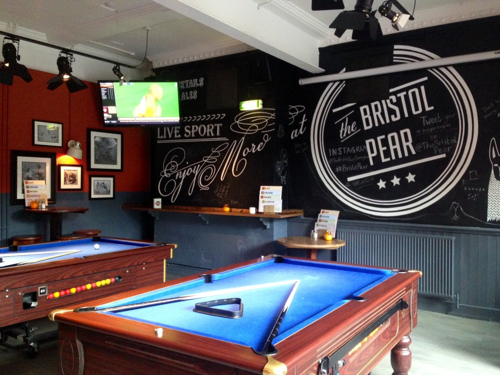 Pool and sports- what more could you want from a pub?