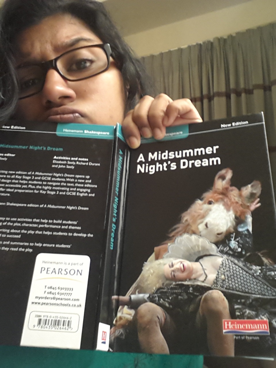 I did Shakespeare too okay?!