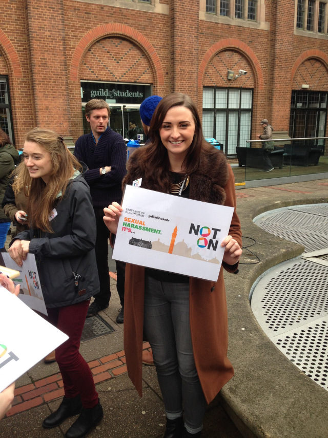 The 'Not On' campaign launched in January