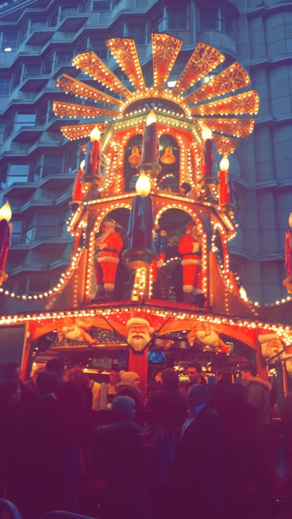 Just look at the wonders a German Market can inspire.