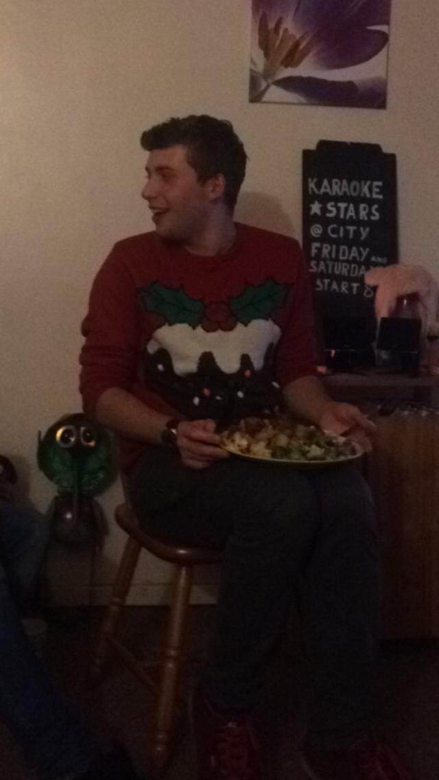 Even took a few bits of broccoli...