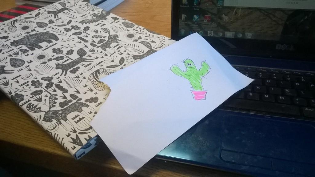 First Class doodling!