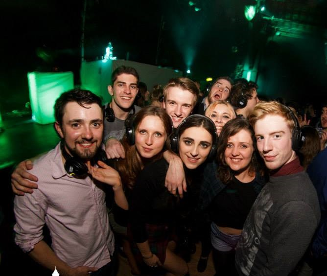 Silent disco? Good but not the best