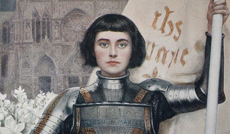 Albert Lynch's Jeanne d'Arc; I started to believe I had been chosen to lead people. I am not sure where I would have led anyone