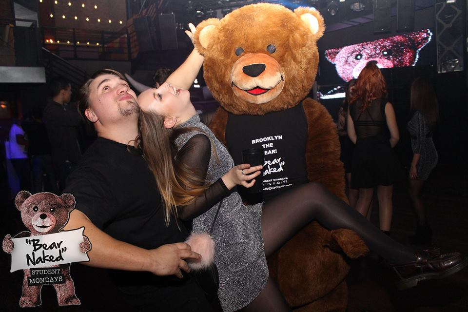 Most dramatic pose with the Przym Bear