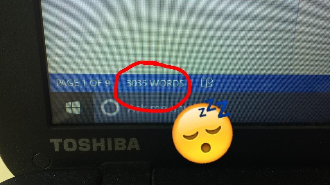 I'm not even halfway at 1,000 words mate