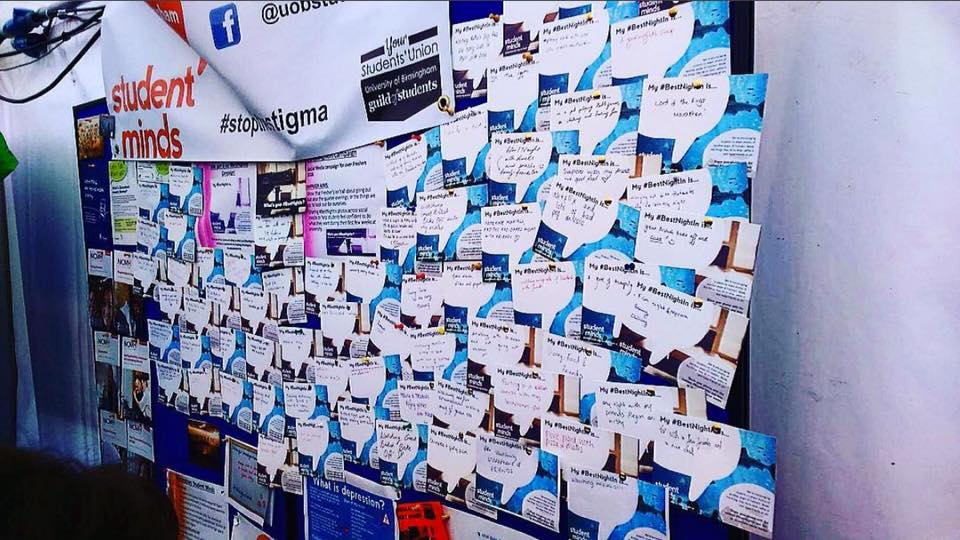 Student Mind's Best Night In Campaign this World Mental Health Day