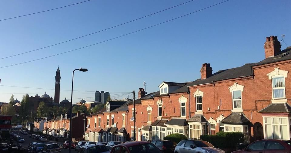 Image may contain: Town, City, Urban, Neighborhood, Building