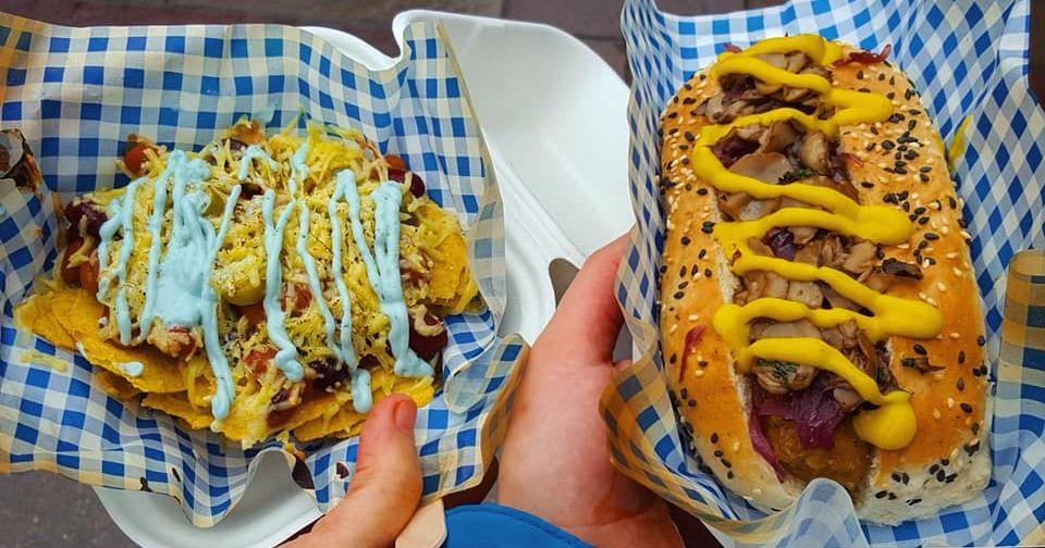Image may contain: Food, Hot Dog