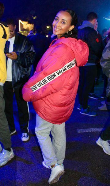 Image may contain: Jacket, Pants, Coat, Costume, Human, Person, Apparel, Clothing