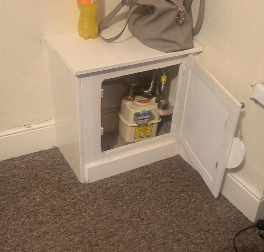 heated storage cupboard