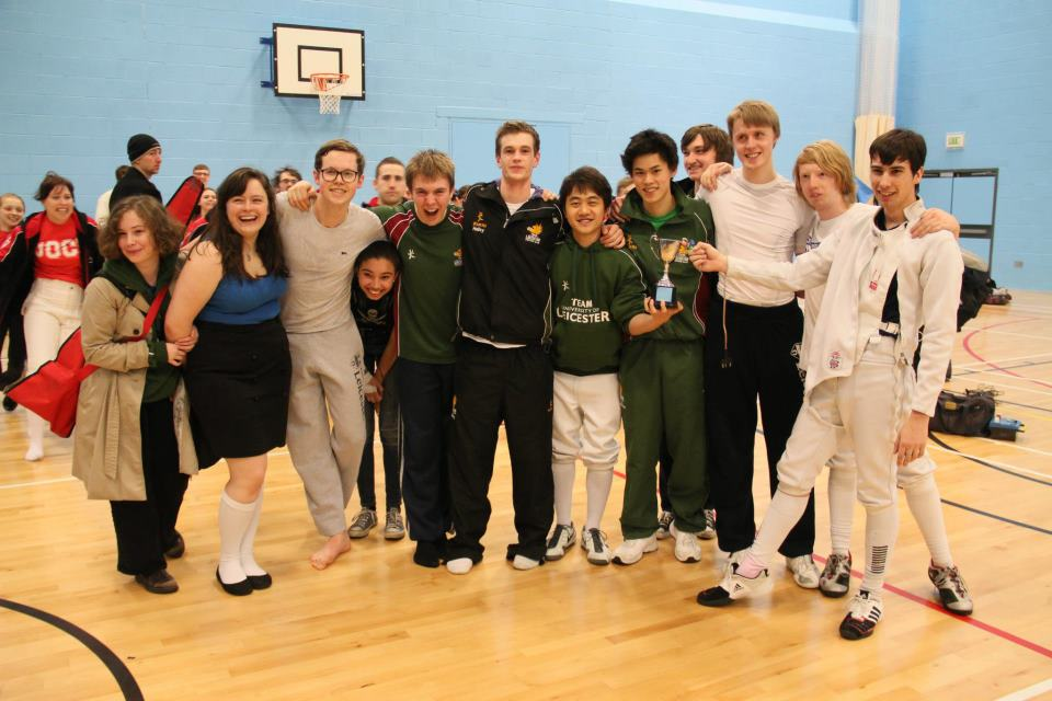 Fencing Club Have A Stab At Promotion