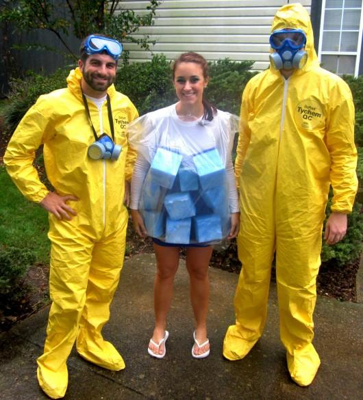 breaking bad meth halloween costume