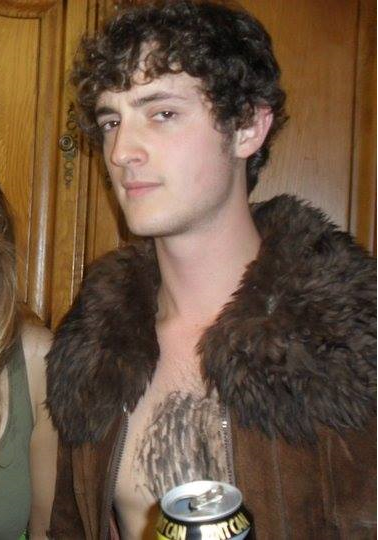 what's up with that chest hair?