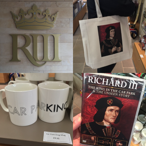 Merchandise in campus shops