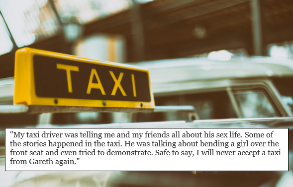 Conversations we've legitimately had with taxi drivers in Leicester